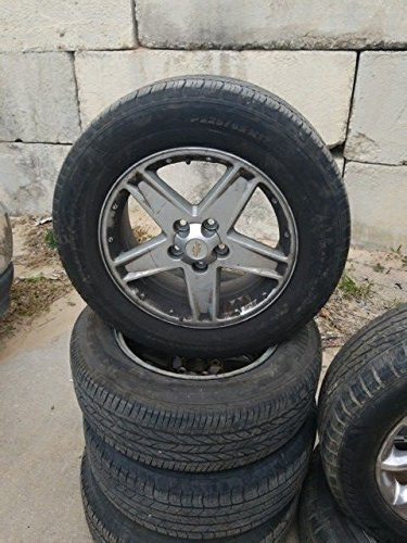 Chevy Equinox 17 INCH Rim and Tire Size P225/65 R17 5 Spoke 5 Lugs 17' Five Spoke
