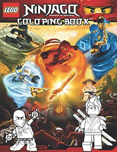Lego Ninjago Coloring Book: Perfect Gift For Kids and Adults, Mega Fan of Ninjago With Amazing Artwork.