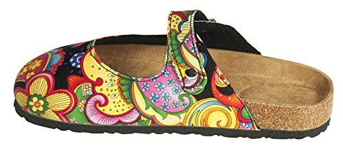 The Paragon Mule Paisley Comfortable Clogs on Slip Shoes xwO6RAwTqW