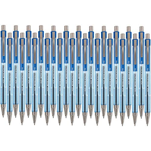 Pilot Better Retractable Ballpoint Pen, Blue Fine Point, 24-Count