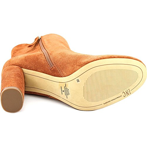 Spiced Womens Toe Ankle Fashion Boots Concepts Taytee INC International Closed Leather Orange ExFvw64Zq