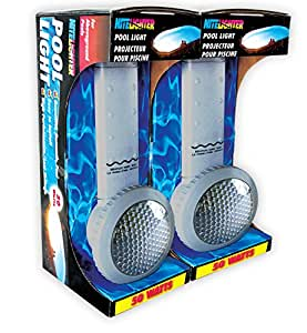 Smartpool Nite Lighter NL100 nueva 2 – 50 W luz Set, color gris