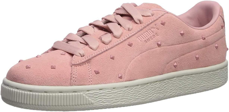 PUMA Women's Suede Studs Sneaker: Puma