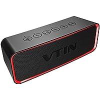 VTIN Waterproof Portable Bluetooth Speaker with HiFi-Tec,...