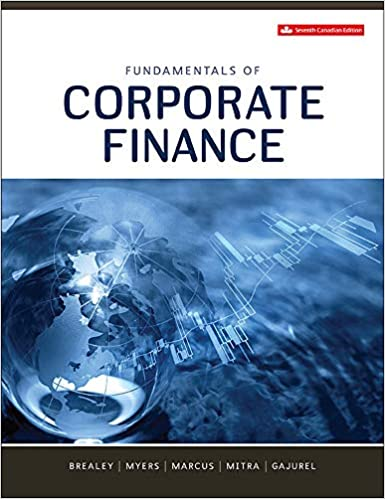 Fundamentals of Corporate Finance 7th Canadian Edition [Richard Brealey]