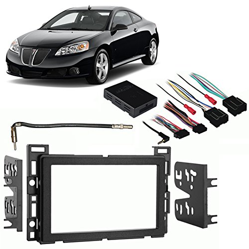 compare price to double din dash kit pontiac g6. Black Bedroom Furniture Sets. Home Design Ideas