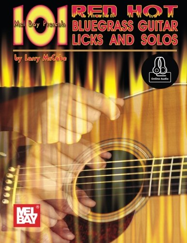 101 Red Hot Bluegrass Guitar Licks and solos ()