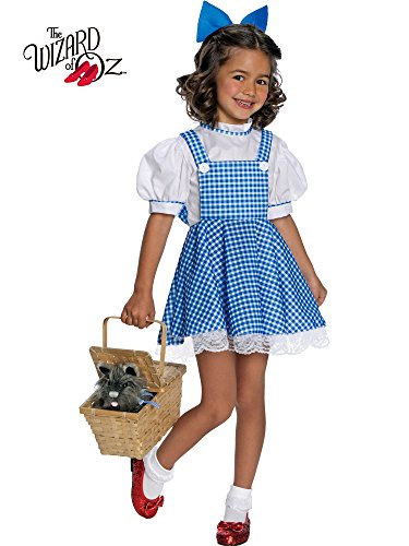 Rubie's Wizard of Oz Child's Deluxe Dorothy Costume, Small (Discontinued by manufacturer) (Dorothy Shoes From The Wizard Of Oz)