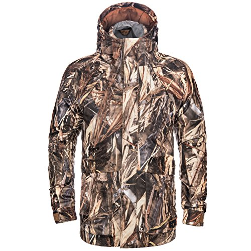 Lucky Bums Koda Adventure Gear Youth True Timber 4 in 1 Waterproof Insulated Parka, DRT, - Youth Hunting Clothes