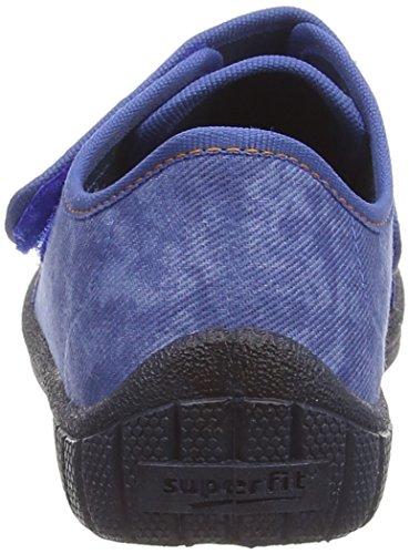 Superfit BILL - pantuflas de lona niños azul - azul (water combi 88)