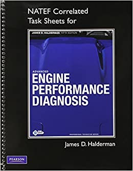 Book NATEF Correlated Task Sheets for Advanced Engine Performance Diagnosis by James D. Halderman (2011-03-18)