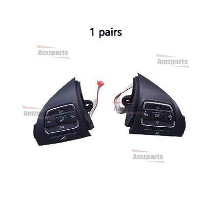 Amazon com: Amzparts Multifunction Steering Wheel Button