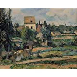 Canvas Prints Of Oil Painting ' Paul Cezanne-Mill On The Couleuvre At Pontoise,1881' 30 x 38 inch / 76 x 95 cm , High Quality Polyster Canvas Is For Gifts And Garage, Kids Room And Kitchen Decoration