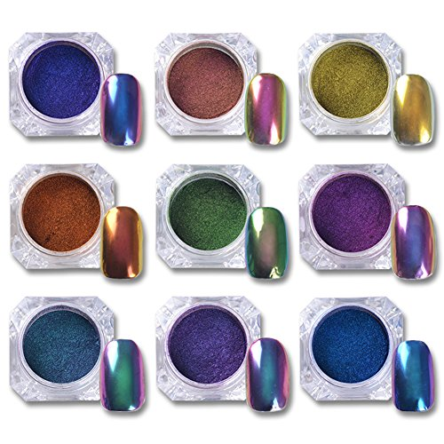 Born Pretty 1G Top-Grade Chameleon Nail Powder Nail Polish U