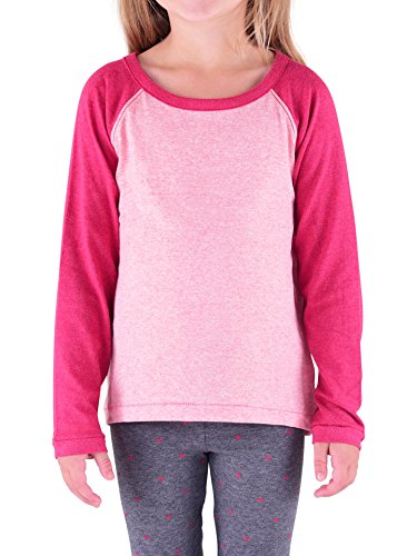 Colored Organics Toddler Girls Organic Mae Long Sleeve - Girls Plain Long Sleeve Tshirts