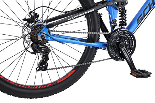 Schwinn Men's Protocol 2.7 Mountain Bike, 27.5'' Wheels, 17'' Frame Size, Matte Blue by Schwinn (Image #5)