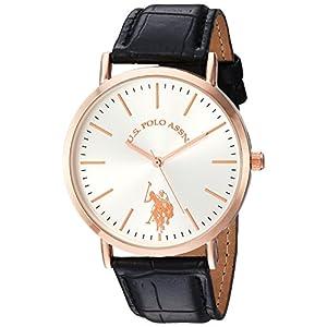 U.S. Polo Assn. Women's Quartz Metal Watch, Color:Black (Model: USC42028)