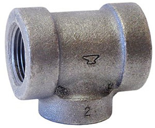 Anvil International 0300032604 Cast Iron Tee Fitting, 2