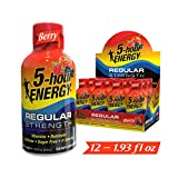 5-hour ENERGY Shot, Regular Strength, Berry 1.93 Ounce, 12 Count
