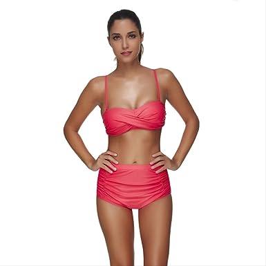 Bikini Traje De Baño De Dos Piezas Estampado Sexy Traje De ...
