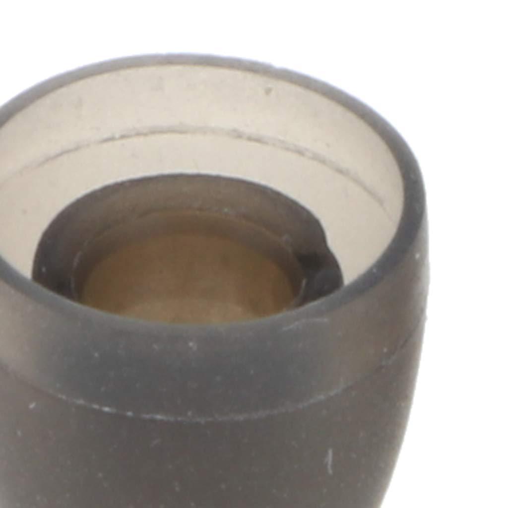 L-1.3cm Prettyia 4 Pairs Mixed Sizes Ear Tips Eartips S-0.9cm M-1.1cm White XS-0.7cm
