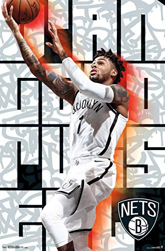 Brooklyn Nets-D'Angelo Russell Clip Bundle Wall Poster 22.375