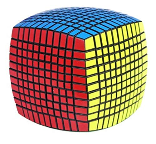 TTXST 11th-Order Speed Cube,11 x 11x 11,Colorful Bread Type Puzzle, Master Cube Competition Professional High-End Children's Educational Brain Training Game Toy (Best 4x4 Rubik's Cube 2019)