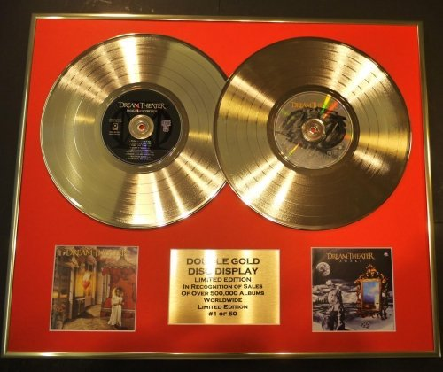 Dream Theater/double CD Gold Disc Display/ltd. Edition/coa/ Images And Words
