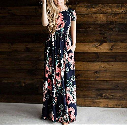 Leezeshaw - Vestido - para mujer Navy1
