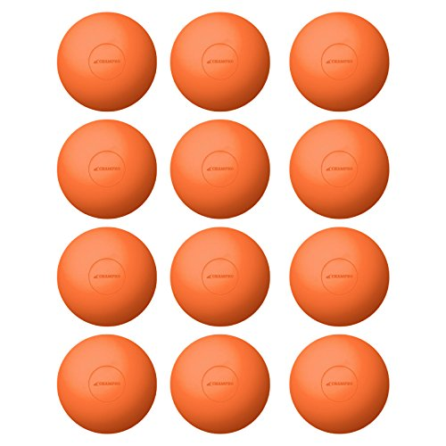 Champro NOCSAE Lacrosse Balls; Orange Nocsae Lacrosse Balls, 12