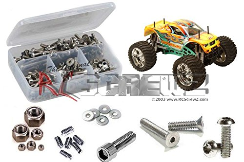 - RC Screwz Stainless Steel Screw Kit for CEN Racing Genesis 7.7 GST #cen006