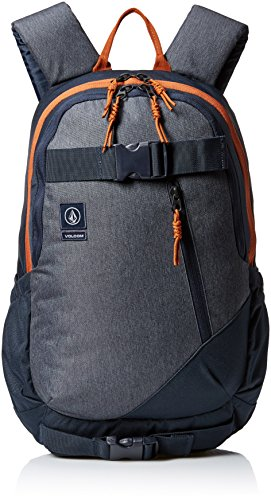 Volcom Unisex Substrate Backpack, Navy, One Size