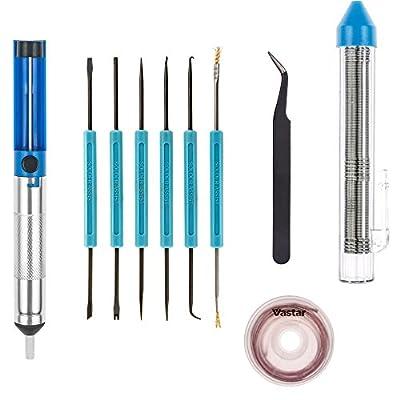 Vastar Professional Solder Assist Tools and Accessory Kit (11 Pcs)