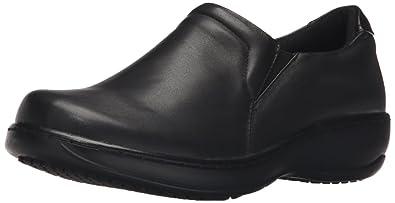 Spring Step Women's Woolin Work Shoe, Black, ...