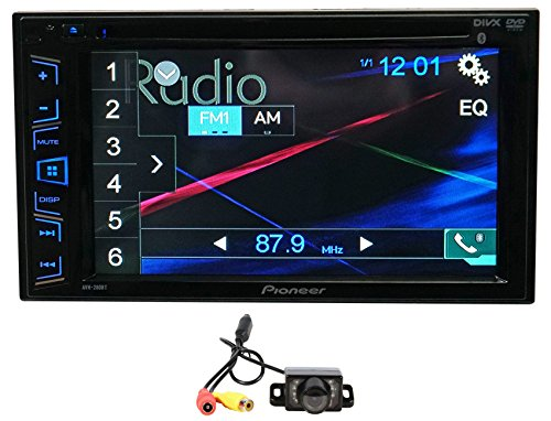 "Package: Pioneer AVH-280BT 6.2"" 2-Din DVD/CD/MP3 Car Audio M"