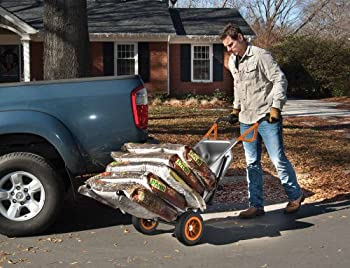 Worx Aerocart Multifunction 2-wheeled Yard Cart, Dolly, & Wheelbarrow With Flat Free Tires - Wg050 7