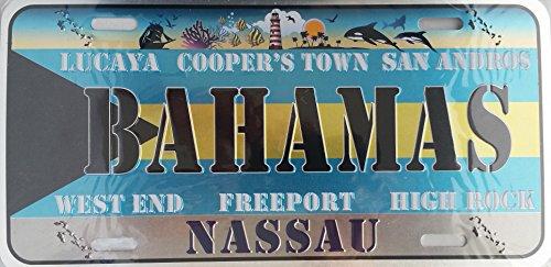 Bahamas Plate - 1