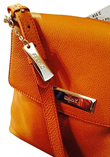Pebbled Brown Bag Donna Soft Karan Crossbody Leather Dkny Camel OqpBwB