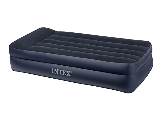 849 opinioni per Intex 66706 Materasso Letto, Comfort Singolo T con Pompa Elettrica Incorporata,