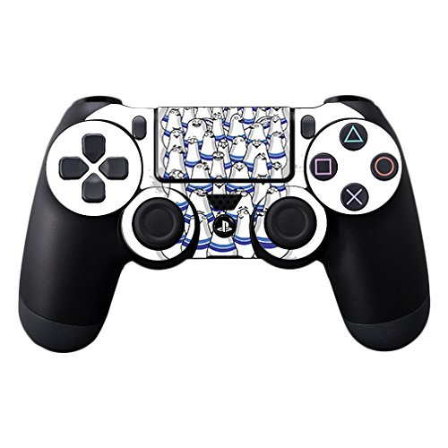 MightySkins Skin Compatible with Sony PS4 Controller - Pigeon Pins | Protective, Durable, and Unique Vinyl Decal wrap Cover | Easy to Apply, Remove, and Change Styles | Made in The USA (Remove Pigeons)
