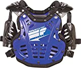 Polisport Fly Racing Convertible II Protective Mini Gear , Distinct Name: Blue, Size Segment: Youth, Size Modifier: 40-80lbs, Primary Color: Blue, Size: OSFM, Gender: Boys 8001000034