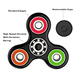 Spinner Hand Fidget Toy with Hybrid Ceramic Bearing, Stress Reducer, Perfect for ADD, ADHD, Anxiety