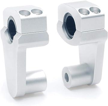 Pro Taper HandleBar Fat Bar Risers Mount Clamp Adapter 7//8-1 1//8 Universal Sol