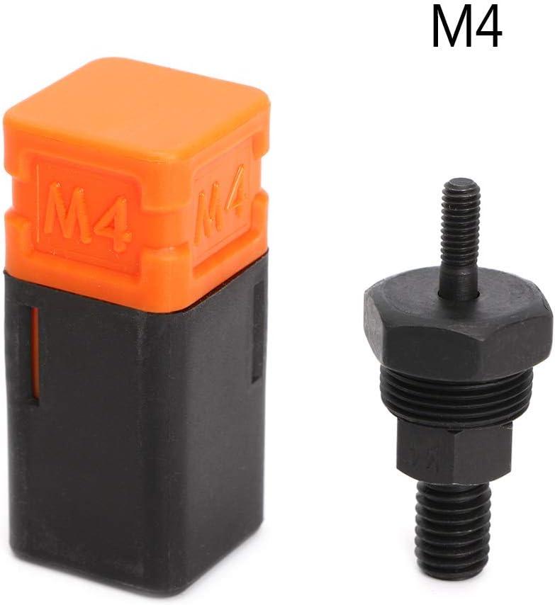 WE-WHLL Reemplazo de Mandril roscado de Parte de Pistola Remachadora para Remache de Tuerca de Mano métrico M3-M12
