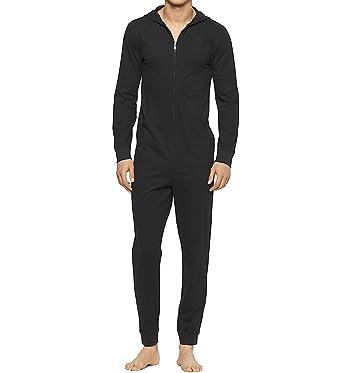 f943f9248 Calvin Klein Underwear Men's CK Origins Onesie - Black -: Amazon.co ...