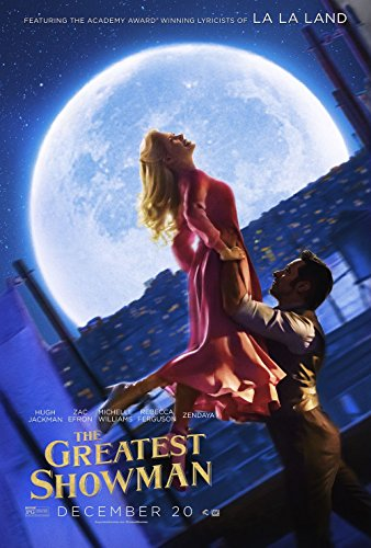 The Greatest Showman Movie Poster 18 x 28 Inches
