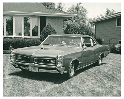 1966 Pontiac V8 GTO Hardtop Coupe Automobile Photo Poster from AutoLit