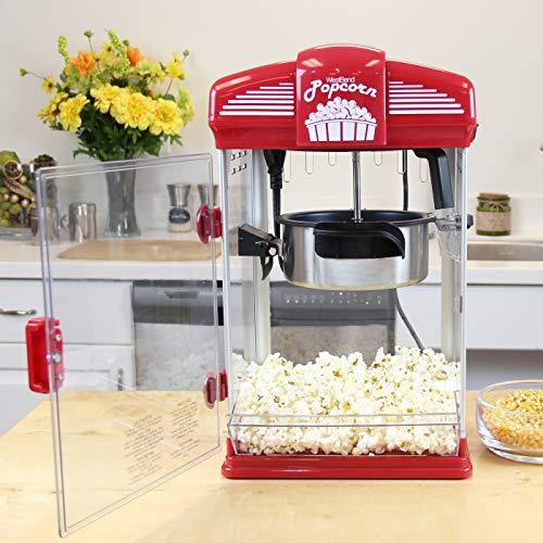 Theater-style popcorn machine