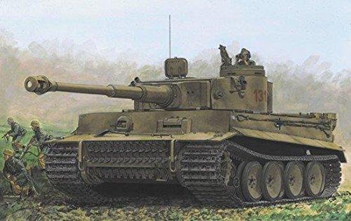"Dragon Models Tiger I 131"" s.Pz.ABT.504 Tunisia (Smart Kit) Model Kit (1/35 Scale) from Dragon Models USA"
