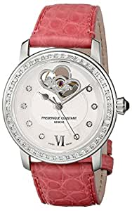 Frederique Constant Women's FC-310DHB2PD6 Ladies Automatic Mother-Of-Pearl Diamond Dial Watch